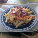 BBQ Fries en Casa (Bacon & Cheese Fries pero con Salsa Barbacoa)