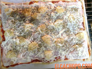 pizza acabada